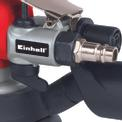 Levigatrice rotorbitale pneumatica DSE 125 Detailbild ohne Untertitel 2