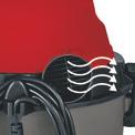Nass-Trockensauger TH-VC 1815 Detailbild ohne Untertitel 5