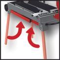 Radial Tile Cutting Machine TE-TC 620 U Detailbild ohne Untertitel 1