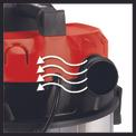 Aspirasolidi e liquidi TE-VC 1820 Detailbild ohne Untertitel 2