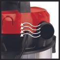 Wet/Dry Vacuum Cleaner (elect) TE-VC 1925 SA Detailbild ohne Untertitel 3