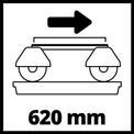 Radiális csempevágó gép TE-TC 620 U VKA 2
