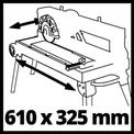 Radial Tile Cutting Machine TE-TC 620 U VKA 1