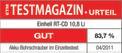 Maschinen-Set (Werkzeug) RT-CD 10,8 Li Kit Testmagazin - Logo (oeffentlich) 2