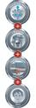 Nass-Trockensauger TE-VC 1820 Logo / Button 2