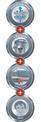 Nedves-száraz porszívó TE-VC 1820 Logo / Button 2