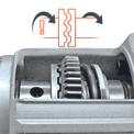 Bohrhammer TH-RH 800 E Detailbild ohne Untertitel 4