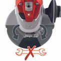 Amoladora TE-AG 230 Detailbild ohne Untertitel 1