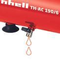 Kompresszor TH-AC 190/6 OF Detailbild ohne Untertitel 4