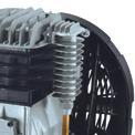Kompressor TE-AC 400/100/10 D Detailbild ohne Untertitel 2