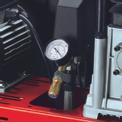 Kompressor TE-AC 400/100/10 D Detailbild ohne Untertitel 4