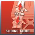 Asztali körfűrész TE-CC 1825 U VKA 1