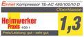 Kompresszor TE-AC 480/100/10 D Testmagazin - Logo (oeffentlich) 1