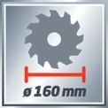 Kézi körfűrész TH-CS 1200/1 VKA 2