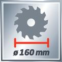 Seghe circolari manuali TH-CS 1200/1 VKA 2