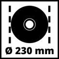 Smerigliatrice angolare TE-AG 230/2000 VKA 3