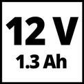Akkus fúró-csavarozó TH-CD 12 Li VKA 1