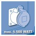 Áramfejlesztő (benzines) BT-PG 5500/2 D VKA 1