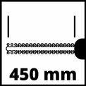 Elektromos sövényvágó GH-EH 4245 VKA 1