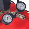 Compresor de aire TE-AC 270/50/10 Detailbild ohne Untertitel 1