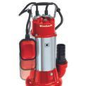 Dirt Water Pump GC-DP 1340 G Detailbild ohne Untertitel 3