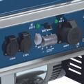 Stromerzeuger (Benzin) BT-PG 5500/2 D Detailbild ohne Untertitel 1