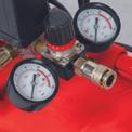 Kompressor TE-AC 400/50/10 Detailbild ohne Untertitel 1
