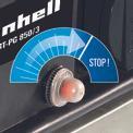 Generador gasolina BT-PG 850/3 Detailbild ohne Untertitel 2