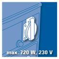 Generador gasolina BT-PG 850/3 VKA 1