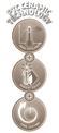 Heizlüfter KH 1500 Logo / Button 1