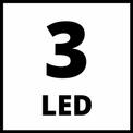 Lanterna fara fir TE-CL 18 Li-Solo VKA 2