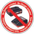 Tagliabordi a batteria GE-CT 18 Li - Solo Logo / Button 2