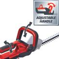 Cordless Hedge Trimmer GE-CH 1855 Li Detailbild ohne Untertitel 2