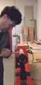 Tornio per legno TC-WW 1000 Einsatzbild 1