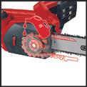 Motosierra eléctrica GE-EC 2240 Detailbild ohne Untertitel 4