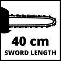 Elektromos láncfűrész GE-EC 2240 VKA 3