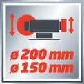 Esmeriladora seco-húmedo TC-WD 150/200 VKA 1
