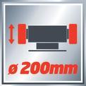 Esmeriladora TC-BG 200 VKA 1