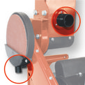 Asztali szalagos-tárcsás csiszológép TC-US 400 Detailbild ohne Untertitel 7