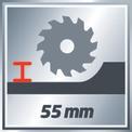 Handkreissäge TE-CS 165 VKA 1