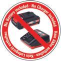 Seghetto a batteria TE-JS 18 Li-Solo Logo / Button 1