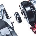 Smerigliatrice angolare a batteria TE-AG 18 Li-Solo Detailbild ohne Untertitel 1