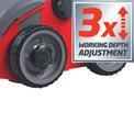 Electric Scarifier-Lawn Aerat. RG-SA 1433 Detailbild ohne Untertitel 6