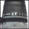 Akku-Schlagbohrschrauber TE-CD 18-2 Li-i Kit Detailbild ohne Untertitel 4