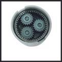 Cordless Drill TE-CD 18 Li mit 2. Akku Kit Detailbild ohne Untertitel 4