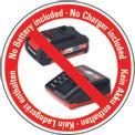 Akkus ütvecsavarozó TE-CI 18 Li-Solo Logo / Button 1