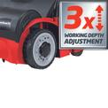 Electric Scarifier-Lawn Aerat. GC-SA 1231 Detailbild ohne Untertitel 1