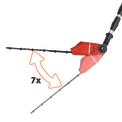 Cl. Telescopic Hedge Trimmer GE-HH 18 Li T-Solo Detailbild ohne Untertitel 2