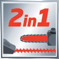 Akkus multifunkciós szerszám GE-HC 18 Li T Kit (1x3,0Ah) VKA 1
