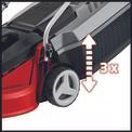 Masina de tuns iarba electrica GC-EM 1030 Detailbild ohne Untertitel 1